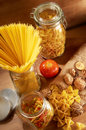 Raw Spaghetti Royalty Free Stock Photo