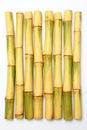 Raw sugar cane Royalty Free Stock Photo