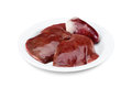 Raw turkey liver