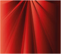 Ray effect red background abstract Royalty Free Stock Image