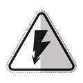 ray volt sign icon