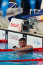 Rayan lochte usa barcelona august in action during barcelona fina world swimming championships on august in barcelona spain Stock Photos