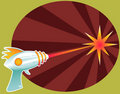 Rayguns are a Blast! Royalty Free Stock Photo