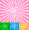 Rays abstract vector Royalty Free Stock Photo