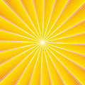 Rays background red and yellow Stock Image