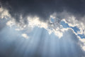 Rays of hope Royalty Free Stock Photo