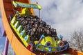 Rc racer roller coaster at disneyland Paris Royalty Free Stock Photo