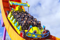 Rc racer roller coaster at disneyland Paris Royalty Free Stock Photo