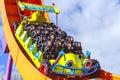 Rc racer roller coaster at disneyland Paris