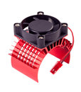 Rc radiator with fan isotaled on white background Royalty Free Stock Photo