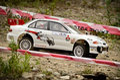 Rc rally car mitsubishi lancer EVO Royalty Free Stock Photo