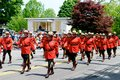 RCMP march Royalty Free Stock Photo