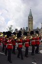 RCMP marching band Royalty Free Stock Photo