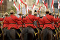 RCMP Riders Royalty Free Stock Photo