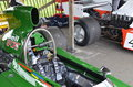Rd grrc members meeting march classic race cars thrills crowds at the at goodwood in west sussex Stock Photography