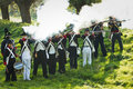 Re-enactment: Replay of Napoleonic period Royalty Free Stock Photography