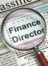 We`re Hiring Finance Director. 3D.