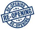 re-opening stamp