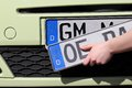 Re registration of a car in germany Stock Photography