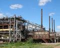 Reactors Of Pyrolysis Royalty Free Stock Image
