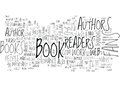 Are Readers Important To Authors Word Cloud Royalty Free Stock Photo