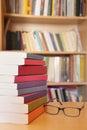 Reading books Royalty Free Stock Photo