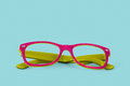 Reading eyeglasses in retro style Stock Photos