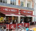 Pret a manger frontage Royalty Free Stock Photo