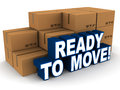 ready to move Royalty Free Stock Photo
