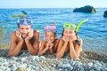 Ready To Snorkle Royalty Free Stock Photo