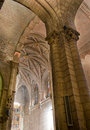 Real Basilica de San Isidoro in Leon. Spain Royalty Free Stock Photos