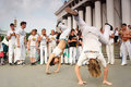 Real capoeira performance Royalty Free Stock Photo