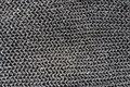 Real chainmail texture close up handmade Royalty Free Stock Photography