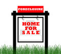 Real easte home for sale sign Stock Photography
