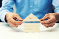 Real estate development and investment business concept