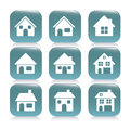 Real estate and house icons illustration of icon conceptual icon with vector illustration Stock Photos