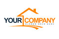 Image : Real Estate House Logo roofing concept personal
