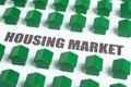 Real estate housing market Royalty Free Stock Photo