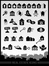 Real estate icons this is file of eps format Stock Image
