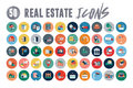 50 Real Estate Icons Royalty Free Stock Photo