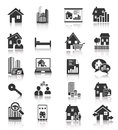Real estate icons vector eps Stock Photo