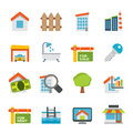 Real estate icons vector icon set Royalty Free Stock Photography
