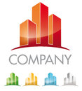 Real estate symbol logo for company Stock Images