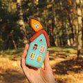 Real estate toy houses little Royalty Free Stock Photography
