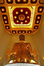 Real Golden buddha Stock Photography