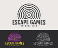 Real-life escape games logo.