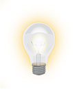 Real vector luminescent lamp Royalty Free Stock Photo