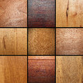 Real wood veneer collage images put together ready for your design Royalty Free Stock Images