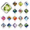 Realistic Ecology Icon Royalty Free Stock Photos