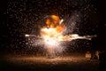 Realistic Fiery Explosion Bust...